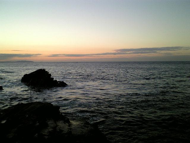 早朝の城ヶ島