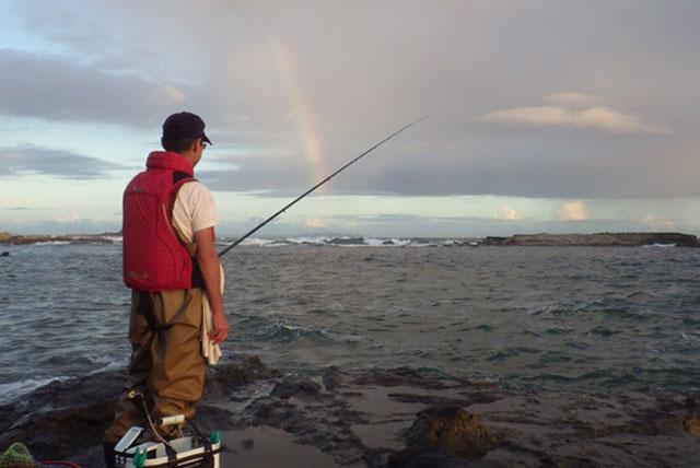 虹とタケさん