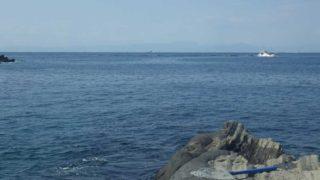 ベタ凪の城ヶ島